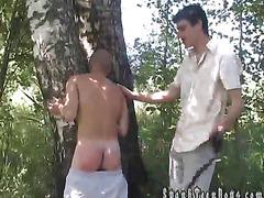 Storming Oscar flogging