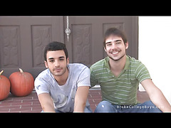 Derek and Zack just hanging out making you feel right at home