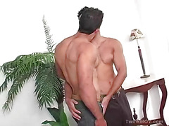 Hot Brazilian men make out and swap sloppy oral sex.