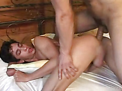 John has a great ass and he is in love. Watch him strip down his partner and ass fuck him hardcore.