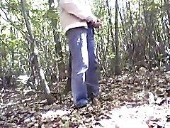 Amateur mature fuck in woods