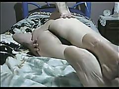 Crossdresser sexy black thong micro Part.2