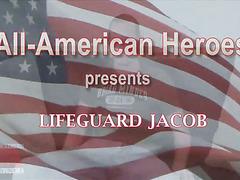 Lifeguard Jacob stokes it