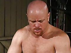 Daddy  fucks guy in the garaje
