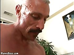 Cute twink with dyed hair gets his ass destroyed  scene 2