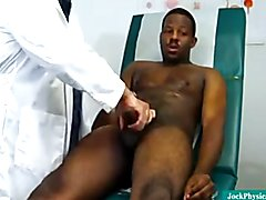 Doctor Taking Care Of Huge Black Cock