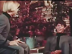 Vintage gay threesome scene