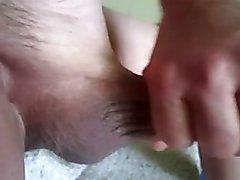 68 yrold Grandpa #134 mature cum close closeup wank uncut