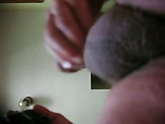 68 yrold Grandpa #136 mature cum close closeup wank uncut