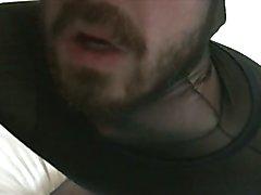 Male Morning Bodystocking Orgasm