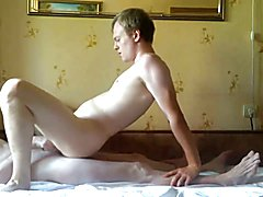 Saturday is time for homemade anal gay video.