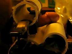 E-stim edging with PVC pipe