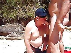 nats mate blows him at the beach