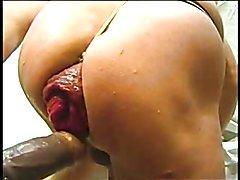 Fucking my ass hole very near