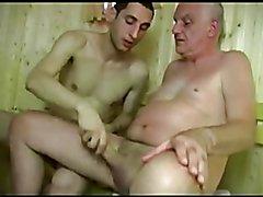 Sauna  scene 2