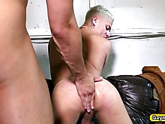 Blonde gaymen loves blowjob and anal fucking  scene 2