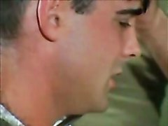 Gay Retro Military Discipline And Obedience  scene 2