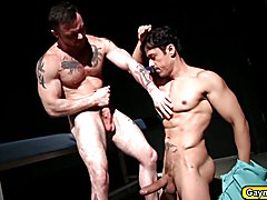 Rafael pounds Sergeant with a big dick