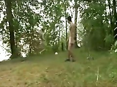 Football and wank in the Woods