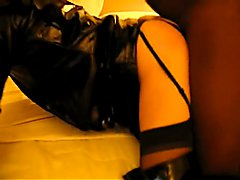 Sissy Trinity Gets Fucked By Two Black Men