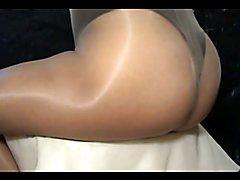 crossdresser pantyhose ass 040