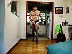 10 08 15 Spray cum in my crotchless panties
