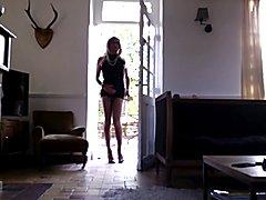 TV TS tranny sissy trav trans pantyhose slut housewife