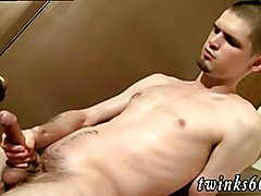 Solo gay wank gif Nolan Loves To Get Drenched