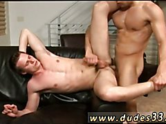 Sexy black male gay porn foreign actors Paulie Vauss and Brody Grant strike it off right