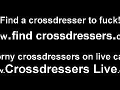 I love crossdressing while I have phone sex