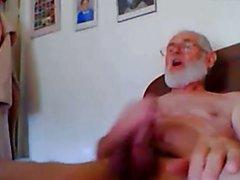 grandpa cum on cam  scene 90