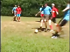 Latin Soccer Players Fucking Outdoor