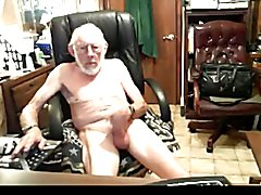 Grandpa Jerking and Wanking