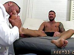 Boy cock and feet gay Dolf's Foot Doctor Hugh Hunter