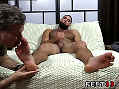 Gay latin feet tube and men with hairy legs nude Ricky Larkin Shoots His Load As I
