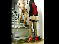 bondage standing in high heels revisited