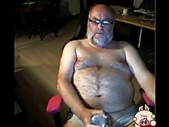 grandpa stroke on cam with a toy  scene 2
