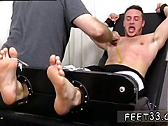 Hot  male legs nude and gay twinks licking black guys feet gallery Kenny Tickled In