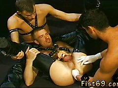 Free brutal twink gay male fisting video It's a 'three-for-all' flick stars|pornographic