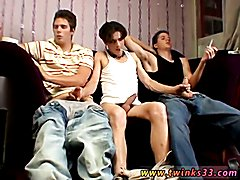 Street twink boys and gay  and cowboy sex David & The Twins