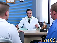Group sex gay russian Brian Bonds goes to Dr. Strangeglove's office with his beau Preston
