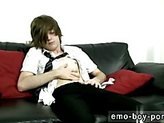 Wet emos gay Hot emo guy Tyler Archers gives us his total attention in his school