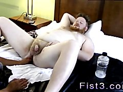 Emo boy fisting videos gay Sky Works Brock's Hole with his Fist