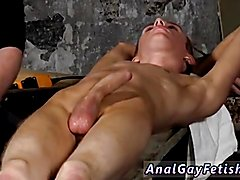 Teen male gay sex bondage xxx British lad Chad Chambers is his latest victim, held and