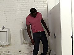 Aiden Parker Fucks A Black Guy In A Restroom