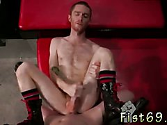 Nude male models fisted gay Seamus O'Reilly waits - rump up as Matt Wylde dick-slaps his