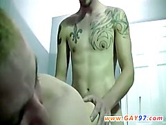 Gay amateur interracial The stud truly gets into it, stroking his own uncircumcised meat