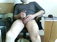 13 spurts of cum in slowmotion