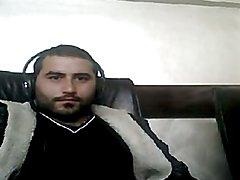 Hot turk jerk in a cybercafe