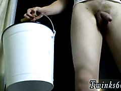 Skinny short teen hurt by black cock gay Eddy And His Bucket Of Piss